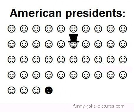 Funny American Presidents Cartoon