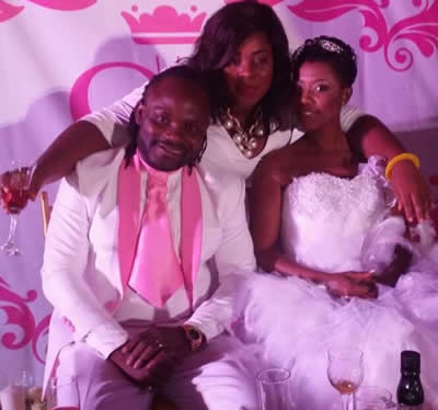 Selly Selorm Galley And Big J Cartel White Wedding Photos