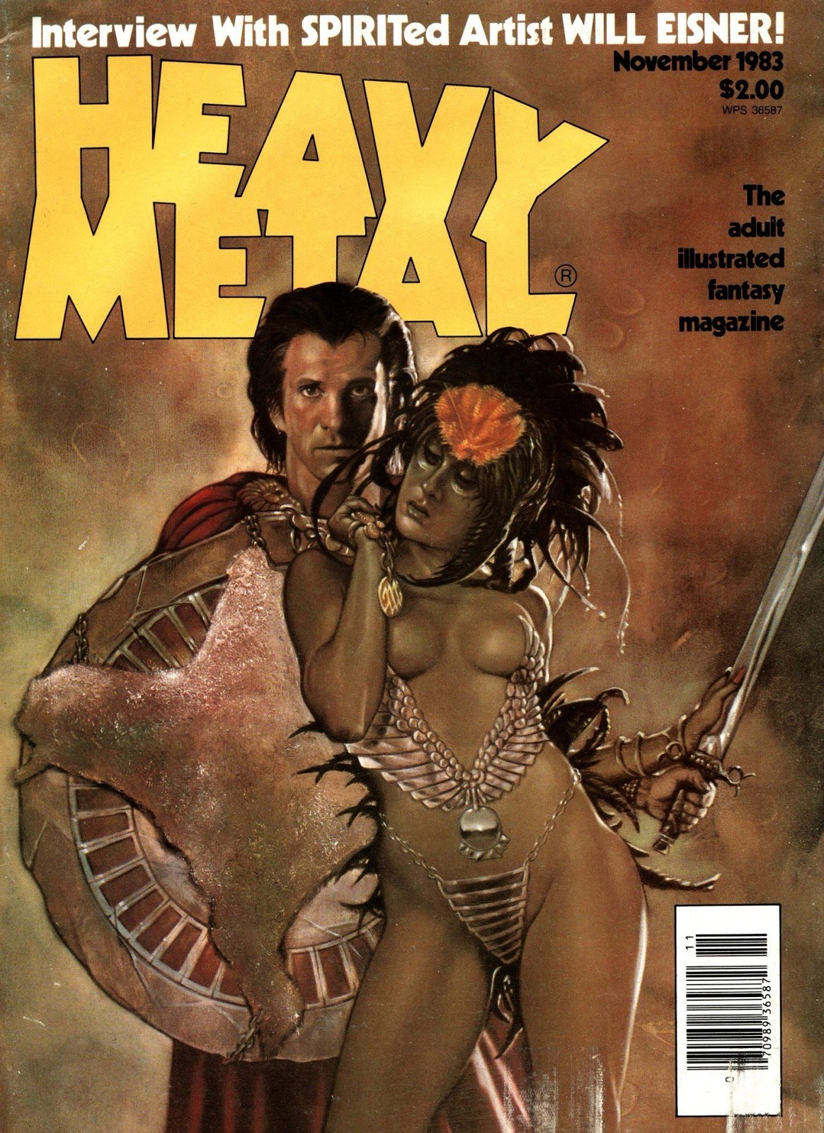 Images: A Fantastic Collection Of Stunning Sci-Fi And Fantasy Based Heavy Metal Comic Book Covers From 1982-1983