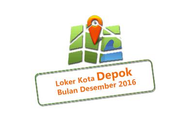 Loker Kota Depok Bulan Desember 2017