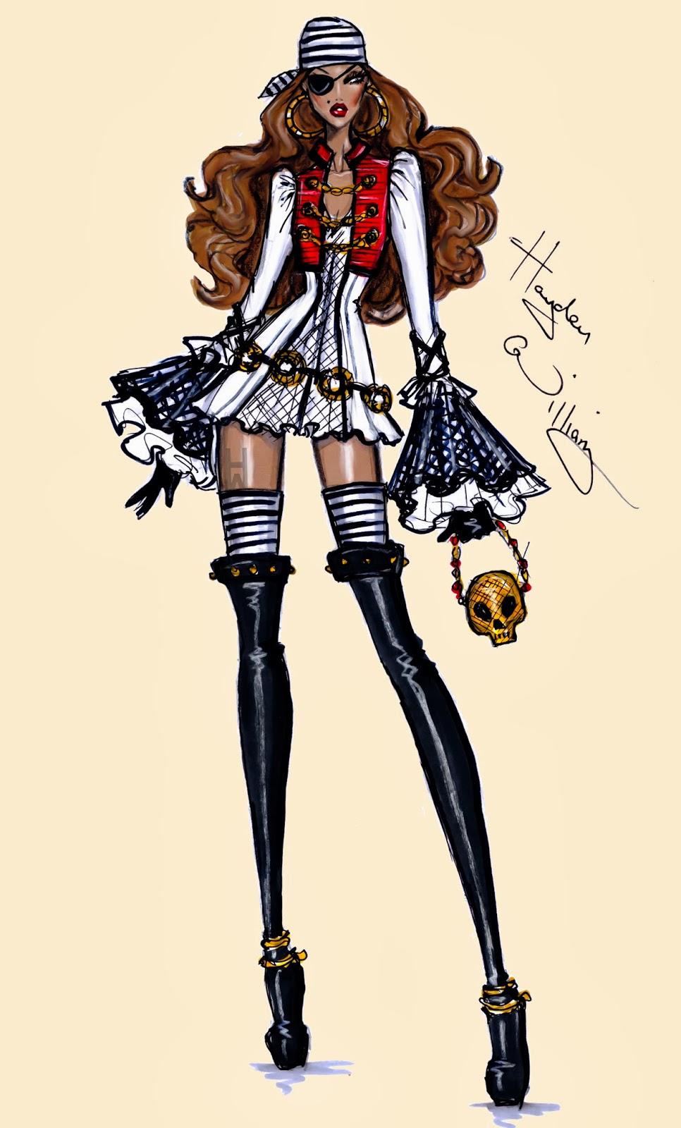Hayden Williams Fashion Illustrations: October 2013