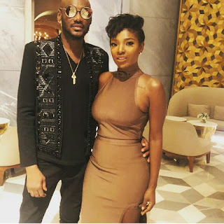 Photos: Annie Idibia celebrates husband 2 baba on his 43rd birthday