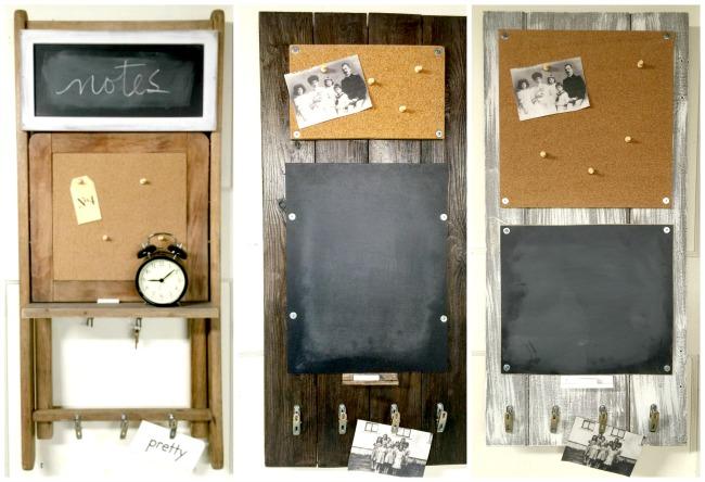 DIY Chalkboard Message Centers