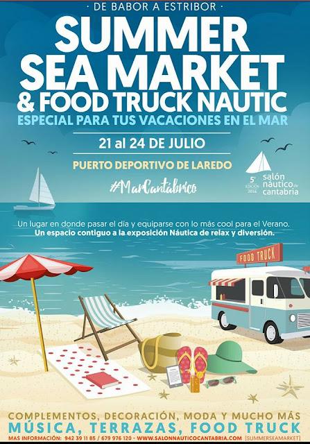 Summer Sea Market & Food Truck N�utic en Laredo