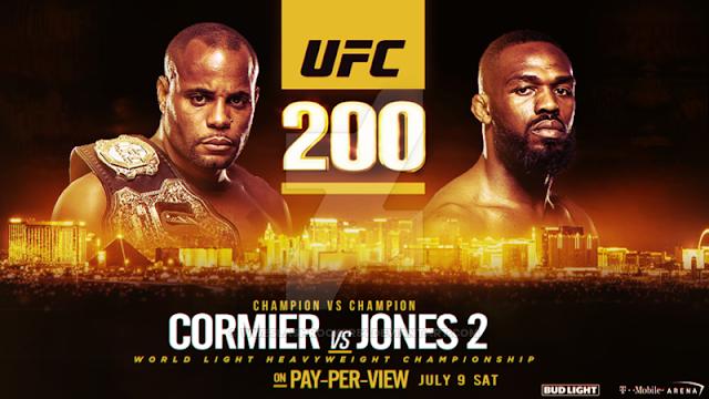 UFC 200: Cormier vs Jones 2 em Las Vegas