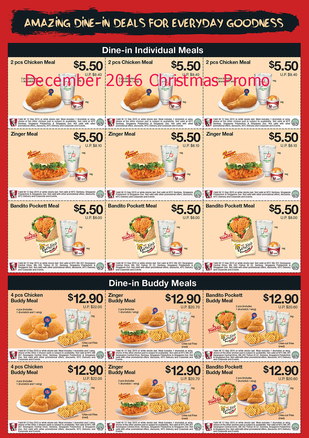 It is a graphic of Magic Kfc Coupons July 2020