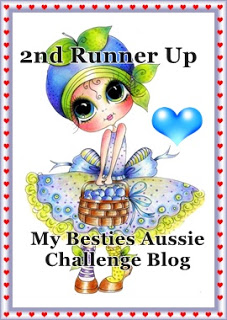 2 december 2019 2e runner up bij Mybestiesaussie