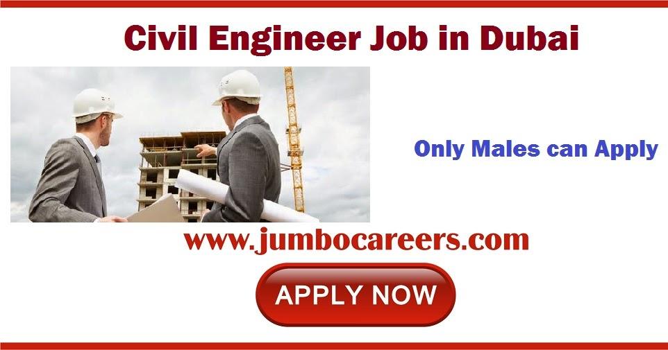 Civil-Engineer-Job-Dubai  Th P Job For Dubai on computer science, civil engineering, for guyanese, quantity surveyor,