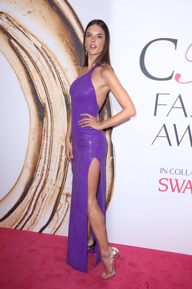 Alessandra Ambrosio is drop dead gorgeous at the CFDA Fashion Awards