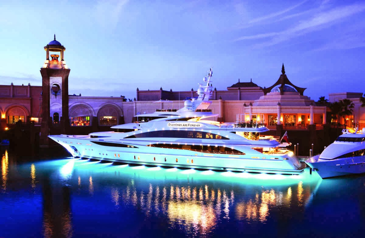 "Luxury Life Design: Luxury Yacht ""Diamonds Are Forever"""