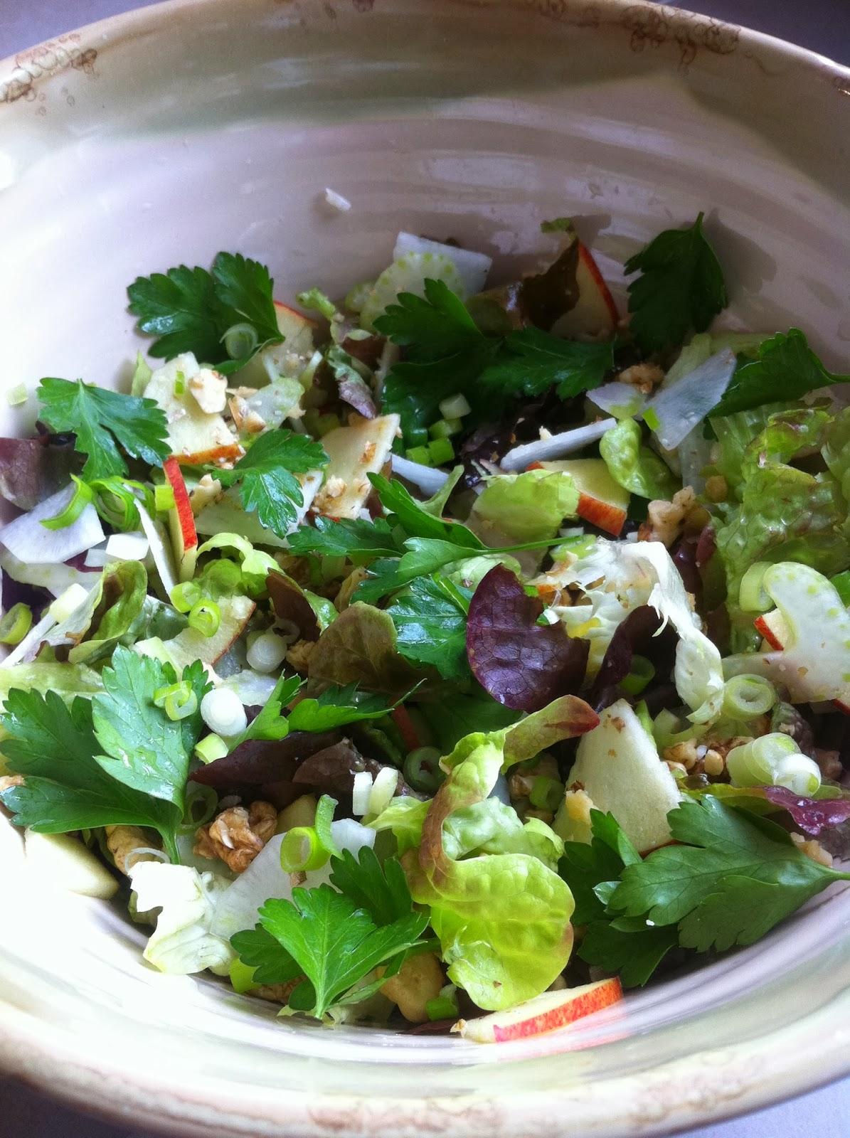 june and jess recette 7 salade croquante detox de printemps. Black Bedroom Furniture Sets. Home Design Ideas
