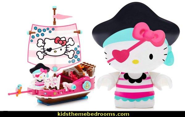 Mega Bloks Hello Kitty Pirate Cove Building Kit   Hello Kitty bedroom ideas - Hello Kitty bedroom decor - Hello Kitty bedroom decorating - Hello Kitty bedroom furniture - Hello Kitty Wallpaper Mural - Hello Kitty Throw Pillows  - Hello Kitty bedding - Hello Kitty Rugs