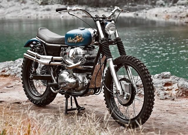 Kawasaki W650 By Mark Motorcycles Hell Kustom