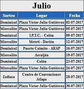 loteria-de-panama-en-tu-comunidad-calendario-julio-2017