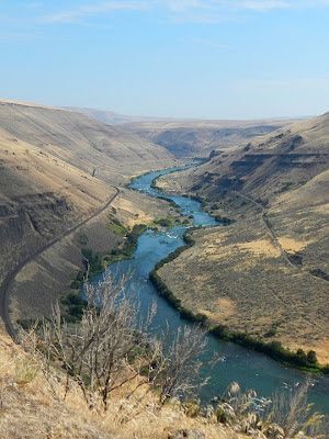 Lower Deschutes Rivers, Kloan