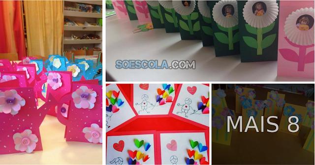 Confira 12 Ideias de Cartões para o Dia das Mães.