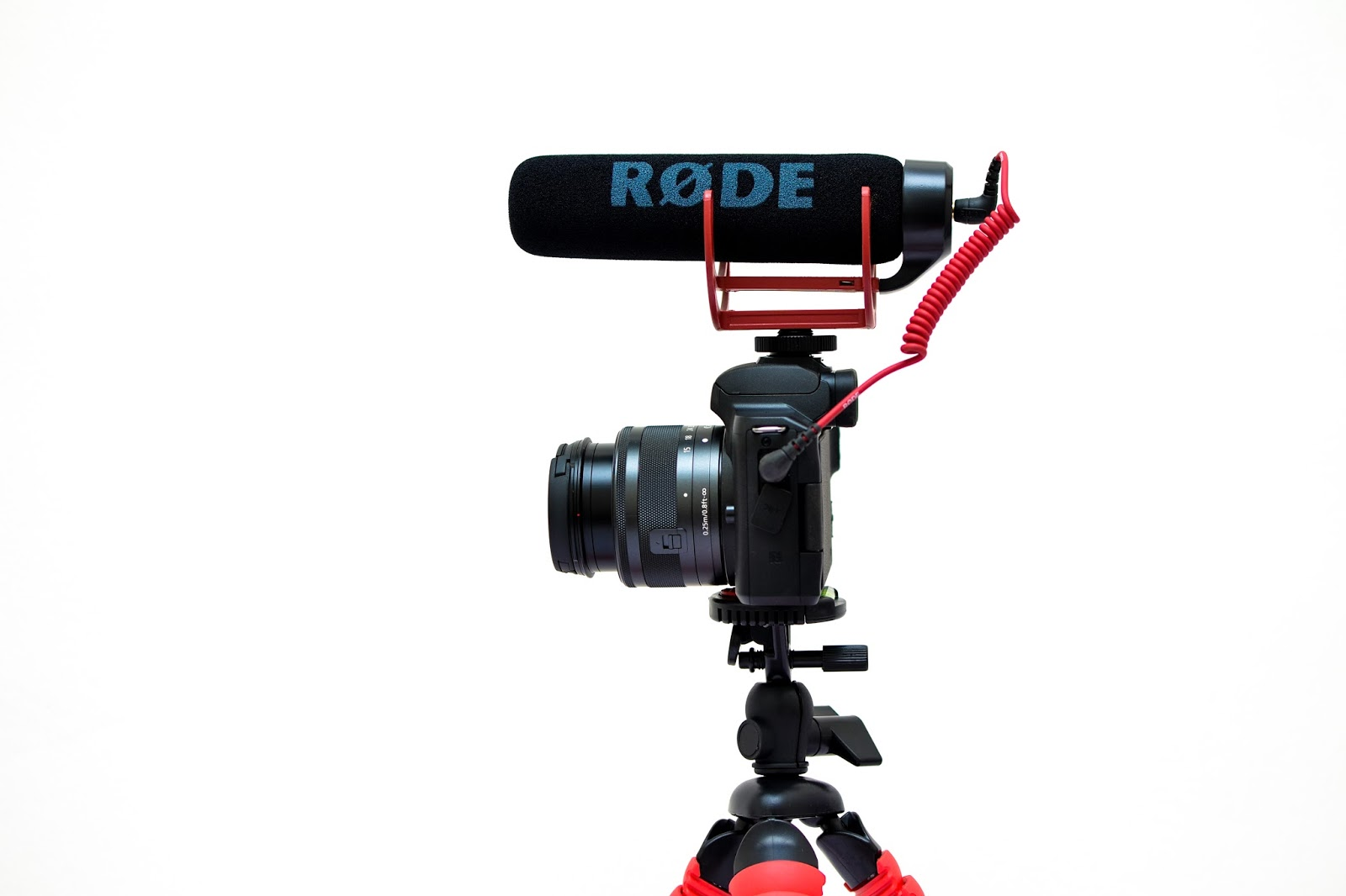 Canon m50 & Rode Video Mic Go