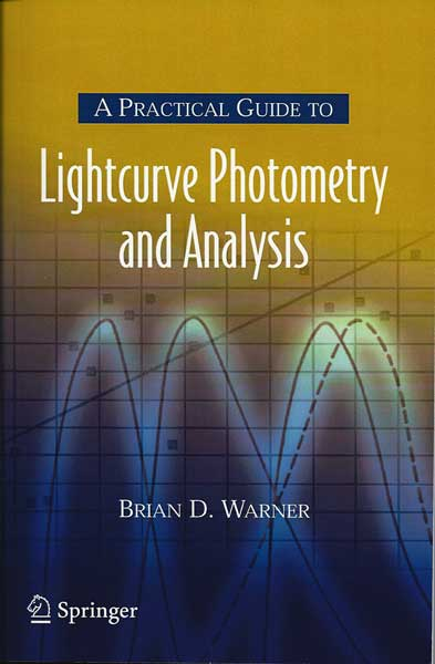 Palmia Observatory staff consult this great practical reference on light curve analysis by Brian Warner