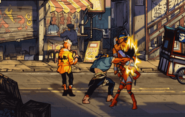 New Streets Of Rage 4 Screenshots, And Gameplay GIF/Video