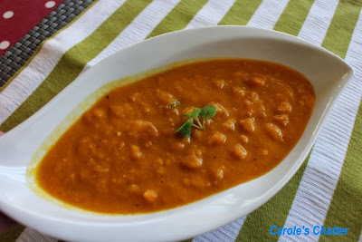 Roasted pumpkin soup by Carole's Chatter