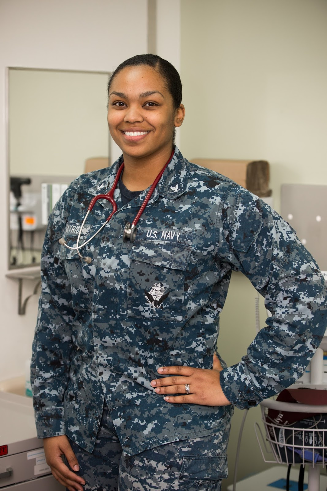 Indianola Native Serves with the U S  Navy Half a World Away
