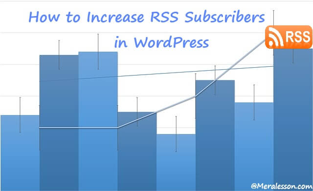 gain more RSS subscribers in WordPress