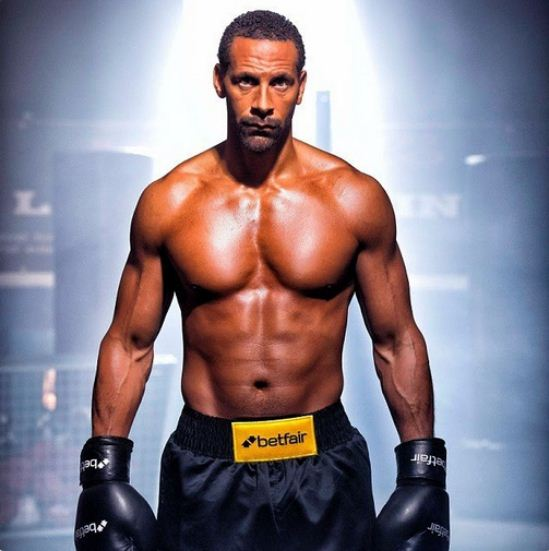 Rio ferdinand boxing license has been denied
