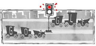 Google Doodle traffic Signal