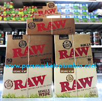 Wide selection of RAW papers at Pars Market Columbia Howard County Maryland 21045
