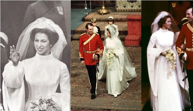 Royal Couture Wedding Of Zara Phillips And English