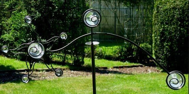 Gartendeko Glaskugeln