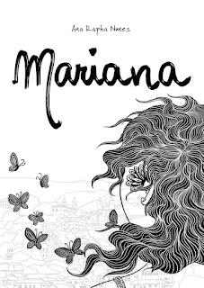 Capa do livro Mariana da autora Ana Rapha Nunes