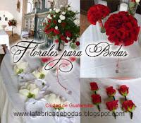 Decoracion arreglos florales para bodas rojo cristales hacienda nueva country club guatemala