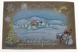 Jõuluteemalised kaardid 2016