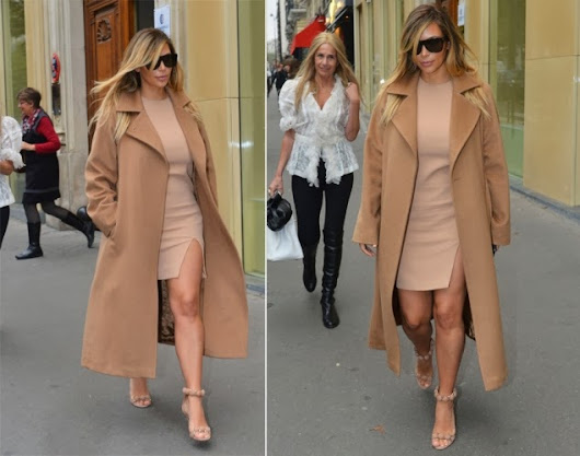 STYLE I'M LOVING: KIM KARDASHIAN IN PARIS