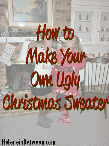 How to Make Your Own Ugly Christmas Sweater