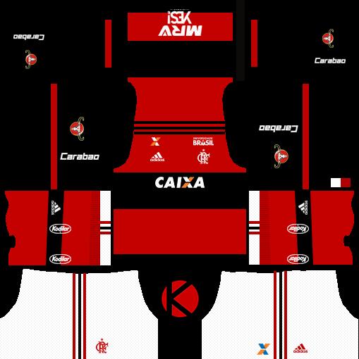 25f9d8ee9f Flamengo 2017 18 - Dream League Soccer Kits - Kuchalana