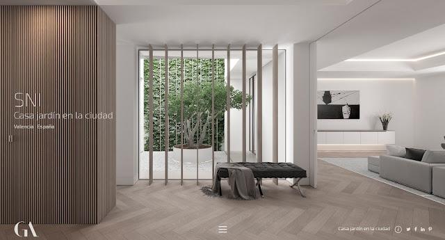 3 proyectos de arquitectura- 3 patios... que no te dejarán indiferente