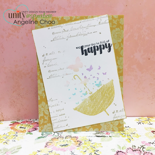 ScrappyScrappy: Full of Happy card #scrappyscrappy #unitystampco #card #stamp #papercraft