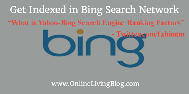 Yahoo-Bing Search Engine Ranking Factors