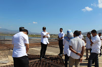 Walikota Minta Pelaksana Proyek Masjid Terapung Genjot Pekerjaan