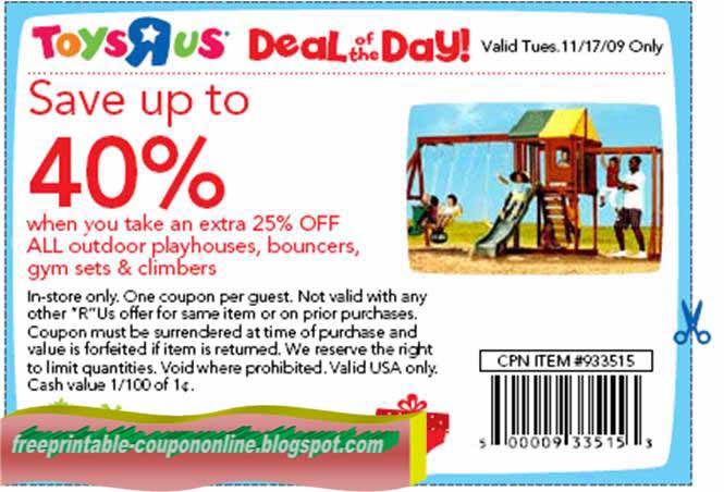 image regarding Printable Toysrus Coupons identify Printable Coupon codes 2019: Toys R Us Discount codes