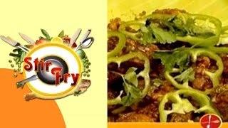 Stir Fry – Vaapas Restaurant, Kodambakkam | May 01, 2016