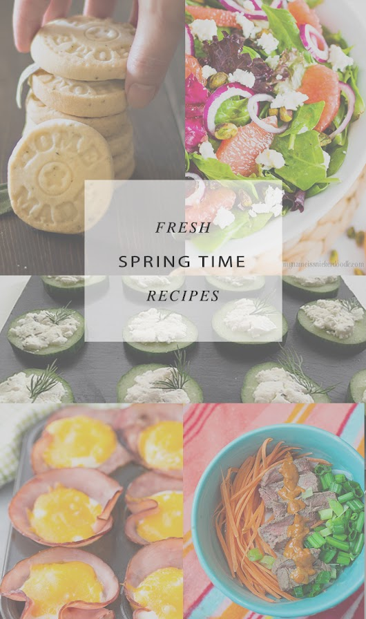 Architecture of a Mom: Amazing Spring Recipes and A Little Bird Told Me Link Party