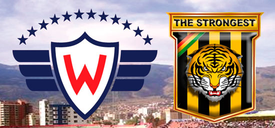 En vivo Wilstermann vs. The Strongest