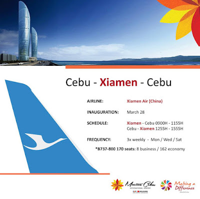 cebu xiamen flights