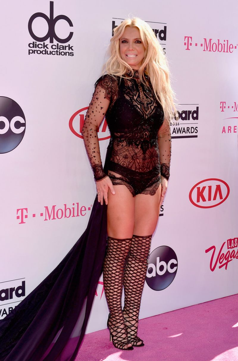 Britney Spears goes kinky for the Billboard Music Awards 2016