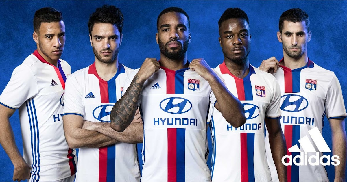 f53be19f5 Lyon 16-17 Home and Away Kits Released - Footy Headlines