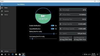3 أدوات للحفاظ على بطارية الكمبيوتر المحمول في نظام التشغيل الويندوز 10