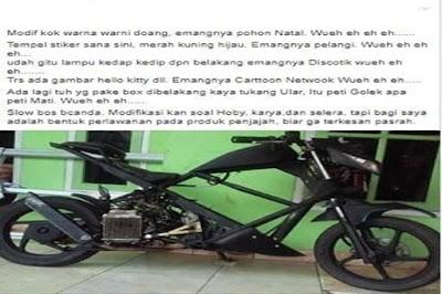 Modifikasi Honda Beat Ala Naked Bike Anti Mainstream,  Ini Bikin Gagal Paham Netizen